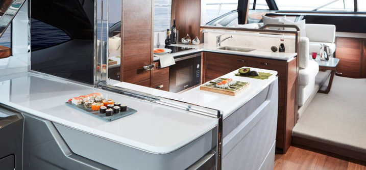 Princess Yachts S60 Interior