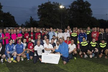 articles - marine industry charity 5-a-side tournament raises £1000 for southampton hospital charities