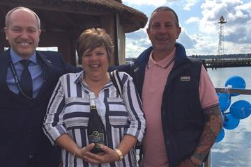 articles - sponsor helps couple celebrate anniversary in style
