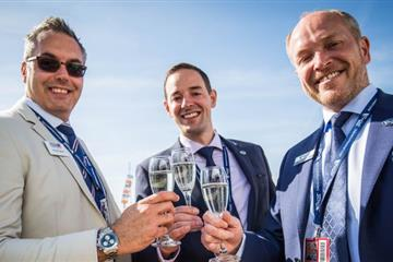 articles - marine firm toasts sponsorship as web traffic rockets