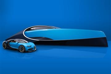 articles - bugatti  palmer johnson launch a perfect match for the bugatti chiron
