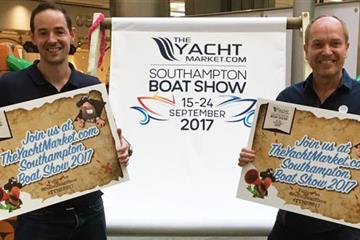 articles - meet the team at 'theyachtmarketcom southampton boat show' - stand e040