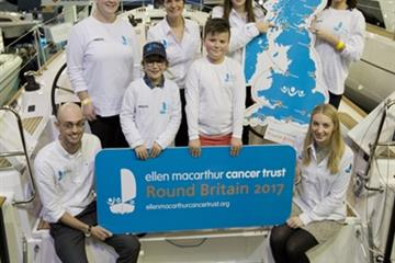 articles - dame ellen macarthur launches plans for round britain 2017