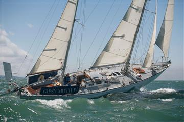articles - gypsy moth iv returns for round-the-world anniversary