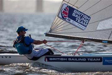 articles - rio olympics 2016 giles scott guaranteed gold in finn class