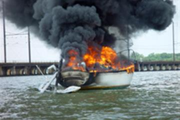 Fire on Boats