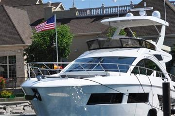 articles - cruisers yachts unveils new boat at sturgeon bay show