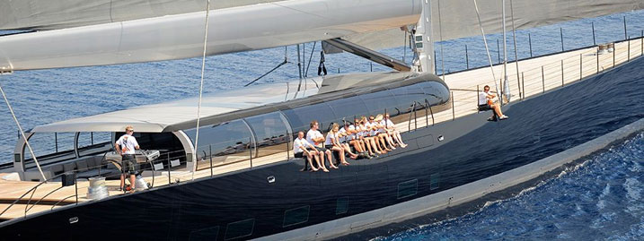 The 10 Largest Sailing Yachts In The World Sails Like A
