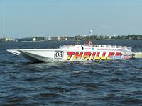 THRILLER POWER BOATS SUPERCAT 55