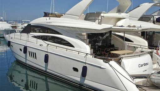 Princess 67. Spain. One owner from new. Teak flybridge deck.