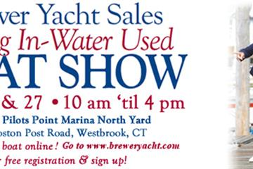 2014 Brewer Spring Boat Show April 26 & 27th – Westbrook, Connecticut