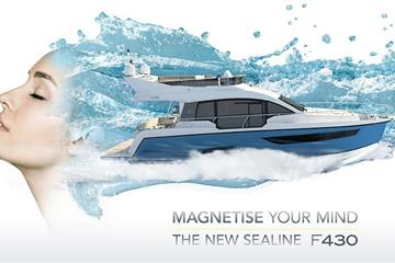 articles - the new sealine f430 – magnetise your mind
