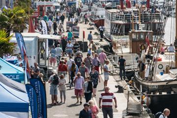 articles - another successful year for the poole harbour boat show