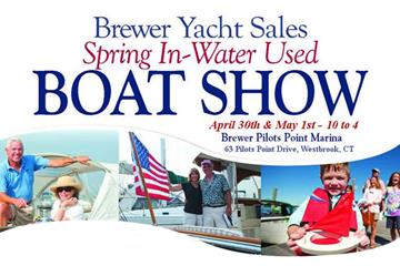 2016 Brewer Spring In-Water Used Boat Show