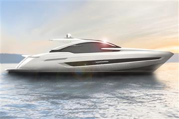 Luxury British boatbuilder, Fairline Yachts, unveils its first yacht designed by renowned Italian superyacht designer, Alberto Mancini.