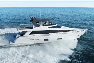 articles - the new hatteras 70 motor yacht