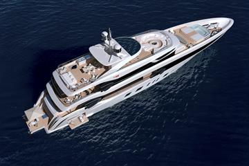 $37 Million Benetti Superyacht Designed by Henrik Fisker
