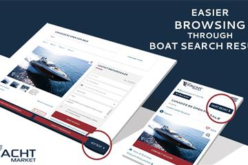 articles - recent enhancements on theyachtmarket