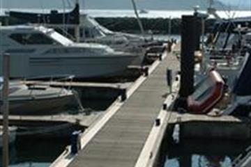 Mooring To A Pontoon Or Dock