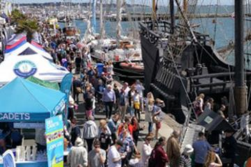 articles - boat show set to take waves at poole harbour