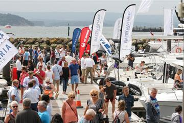 articles - marina exhibitor spaces sell out for the 2019 poole harbour boat show