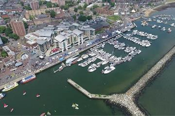 articles - marina exhibitor sales flying for the 2019 poole harbour boat show