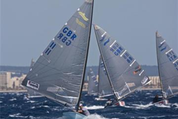 Palma day one - Scott revels in big winds