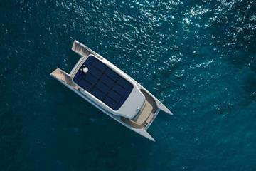 A fully solar electric yacht to enjoy the sea: Soel Senses 48