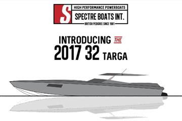 Spectre Boats International - Launch of their 32GT & R