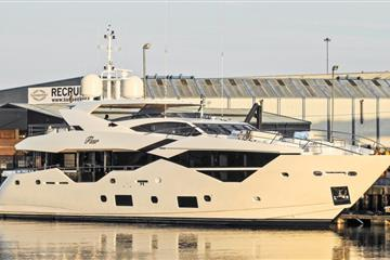 articles - second sunseeker 116 yacht fleur launched