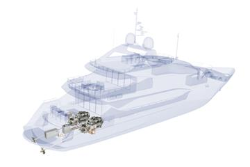 Sunseeker International and Rolls-Royce to present first production yacht with MTU hybrid power in 2020