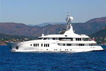 Superyacht 'Talisman C' launched at Proteksan Turquoise