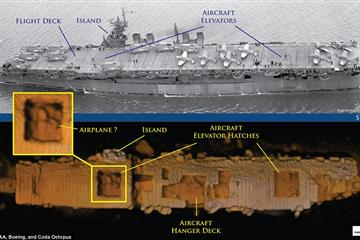 WWII ship used for atomic bomb tests found 'amazingly intact'