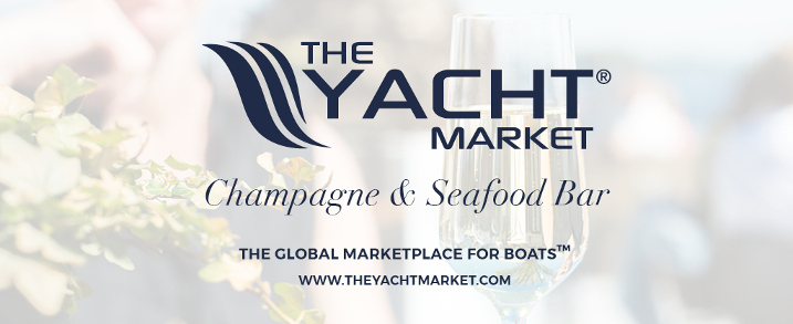 TheYachtMarket champagne & seafood bar logo