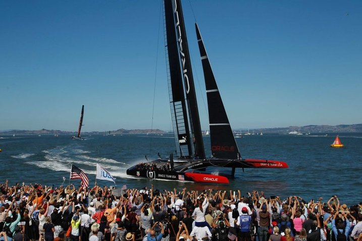 The AC45 - Oracle Team USA