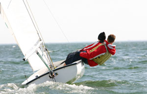 Beginners tips for gibing a dinghy   TheYachtMarket