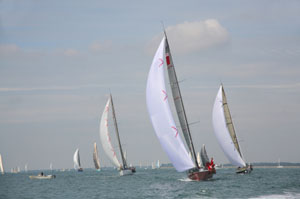Sailing in Cowes